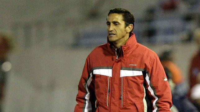 Manolo Jiménez, en Praga en el duelo ante el Slavia