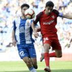 Navas, en el Espanyol-Sevilla (AFP)