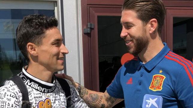 Jesús Ramos y Sergio Ramos (@SeFutbol)