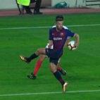 Manos de Jordi Alba contra el Sevilla no señaladas