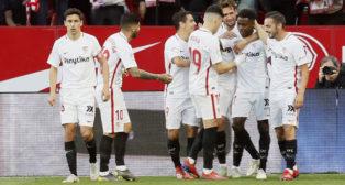 Resumen y goles del Sevilla - Rayo Vallecano (EFE)