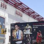 Fachada del estadio Jesús Navas (Foto: @JNavas)