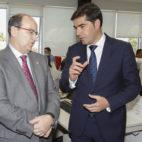 José Castro y Ángel Haro, en la Casa de ABC (Foto: Raúl Doblado)