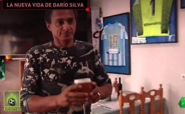 Darío Silva, durante la entrevista con La Sexta