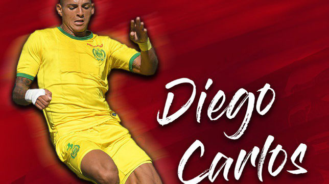 Diego Carlos, primer fichaje del Sevilla 2019-2020 (Foto: Sevilla FC)