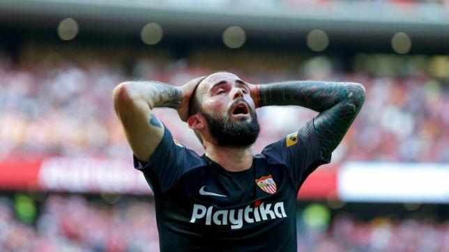 Aleix Vidal en el Sevilla Atlético