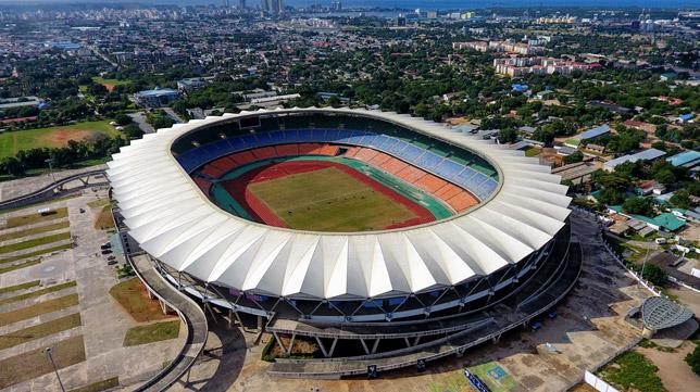El Sevilla FC jugará el el National Stadium de Tanzania (Foto: SFC)El Sevilla FC jugará el el National Stadium de Tanzania (Foto: SFC)