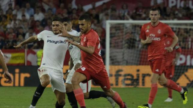 Dani Ceballos ante el Sevilla FC. Foto: LaLiga