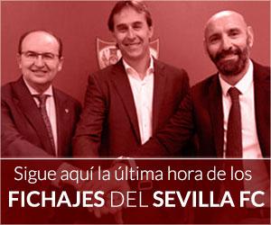 Sigue aquí toda la actualidad de los fichajes del Sevilla FC