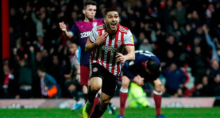 Neal Maupay (Foto: Brentford FC)