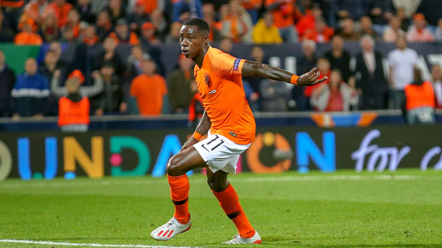 Promes, en el Holanda-Inglaterra de la UEFA Nations League