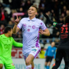 Rémi Oudin, celebrando un gol con su equipo (Foto: Stade de Reims)