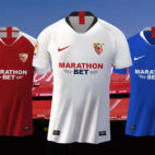 Las equipaciones del Sevilla FC para la 2019-2020