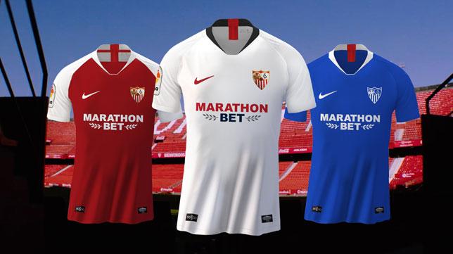ética Tranquilidad Impotencia  Equipaciones Sevilla 2020-21: Nike vestirá los jugadores del Sevilla hasta  2022