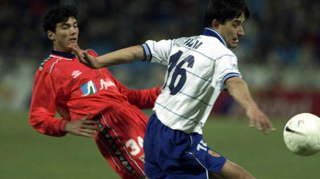 Reyes, el día de su debut con el Sevilla FC