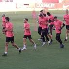 Primer entrenamiento del Sevilla en la pretemporada 19-20 (Foto: J. P.)