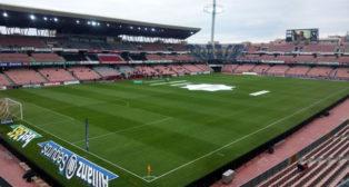 El estadio Nuevo Los Cármenes