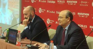 José Castro y Monchi, durante la presentación de De Jong y Dabbur
