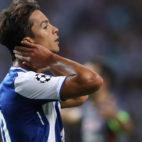 Oliver Torres, durante un partido de la Liga de Campeones ante el Besiktas
