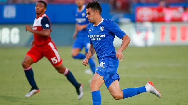 Sergio Reguilón disputó el partido contra el Dallas CF (Foto: EFE)