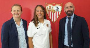 Sara Serrat, uno de los refuerzos del Sevilla FC Femenino para esta temporada