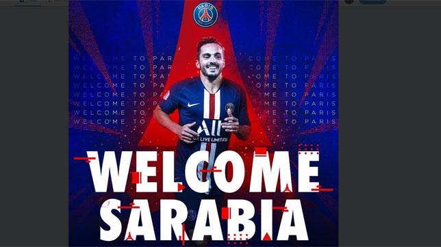 Sarabia, nuevo jugador del PSG