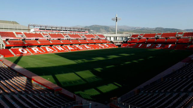 El estadio Nuevo Los Cármenes, que alberga el Granada-Sevilla (Foto: Granada CF).