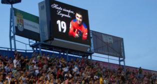 El Francisco de la Hera homenajeó a José Antonio Reyes