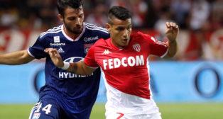 Rony Lopes, durante un partido con el AS Monaco (Foto: REUTERS)