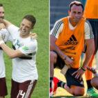 Layún y Torrado, con Chicharito en la selección mexicana
