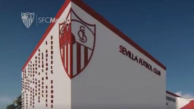 Imagen de la fachada de la nueva ciudad deportiva del Sevilla (Foto: Sevilla FC)
