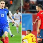 Gameiro con Francia y Sarabia con España, dos casos de jugadores del Sevilla FC que acudieron a la Selección tras abandonar Nervión