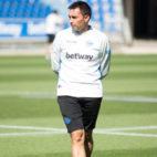 El técnico del Alavés, Asier Garitano