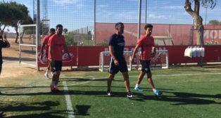 Navas ha vuelto a los entrenamientos tras estar concentrado con la selección española