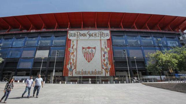 El estadio Ramón Sánchez-Pizjuán
