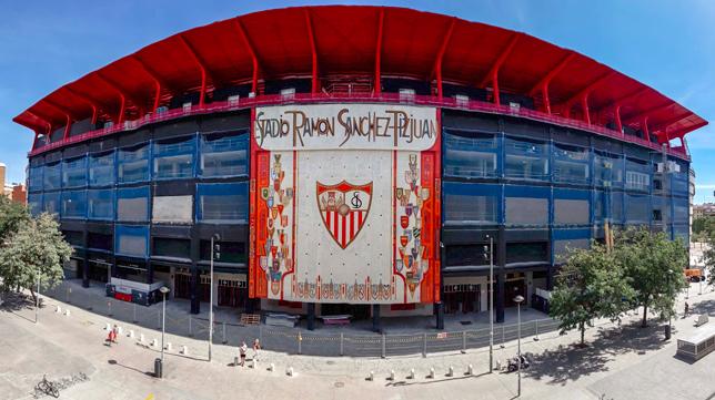 El estadio Ramón Sánchez-Pizjuán (Foto: RAÚL DOBLADO)