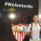 Chicharito, en Sevilla