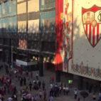 Aspecto del Sánchez-Pizjuán antes del Sevilla-Getafe