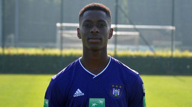 El jugador del Anderlecht, Albert Sambi Lokonga (anderlecht-online.be)