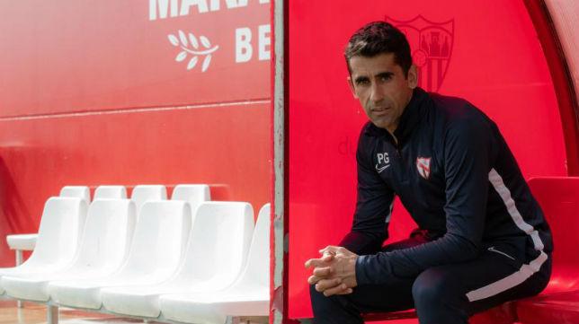 Gallardo es el máximo responsable del primer filial sevillista (Foto: Cristina Gómez)