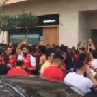 El ambiente de Nervión antes del Sevilla-Atlético