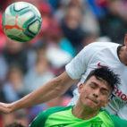 De Jong, en un lance del Sevilla-Leganés (AFP)