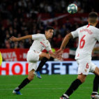 Navas, en un lance del Sevilla-Villarreal (J. M. Serrano)
