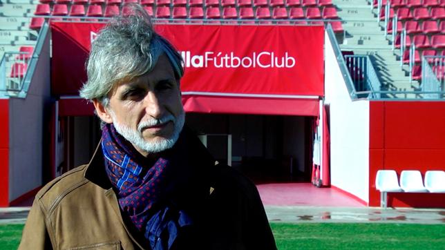 Pablo Alfaro, en el estadio Jesús Navas (Foto: SFC)