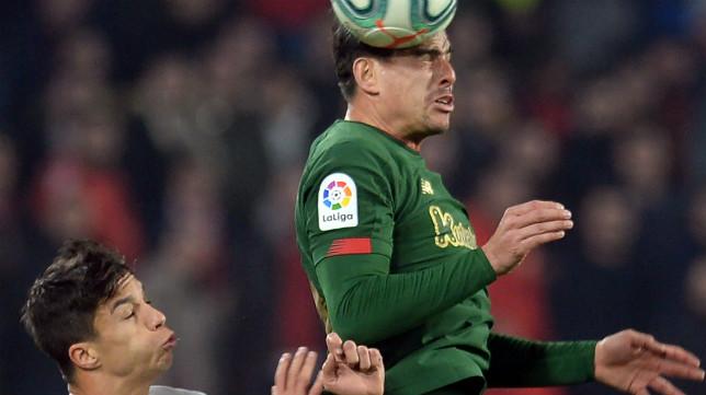 Óliver Torres y Dani García, en un lance del Sevilla FC - Athletic Club
