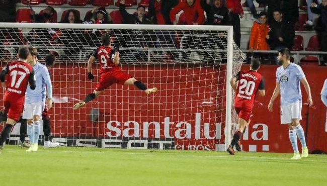 El Mirandés eliminó al Celta de Vigo por 2 a 1 en el marcador