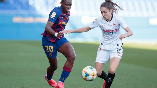 Lance del Barcelona-Sevilla de la Primera Iberdrola