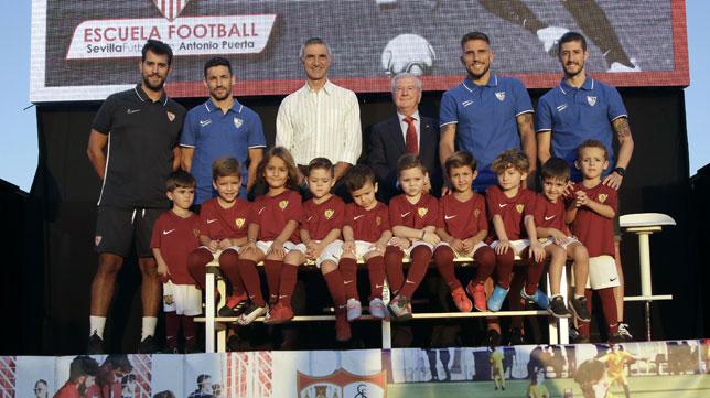 Presentación de la Escuela de Football Antonio Puerta