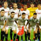 El once del Sevilla FC ante el Cluj en la vuelta de la Liga Europa (Foto: Reuters).