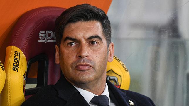 El técnico de la Roma, Paulo Fonseca (E. P.)